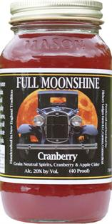 Full Moonshine Cranberry 750ml